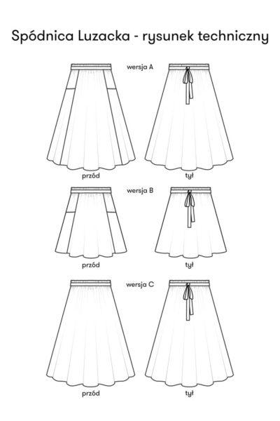 Spódnica Luzacka – wersja elektroniczna