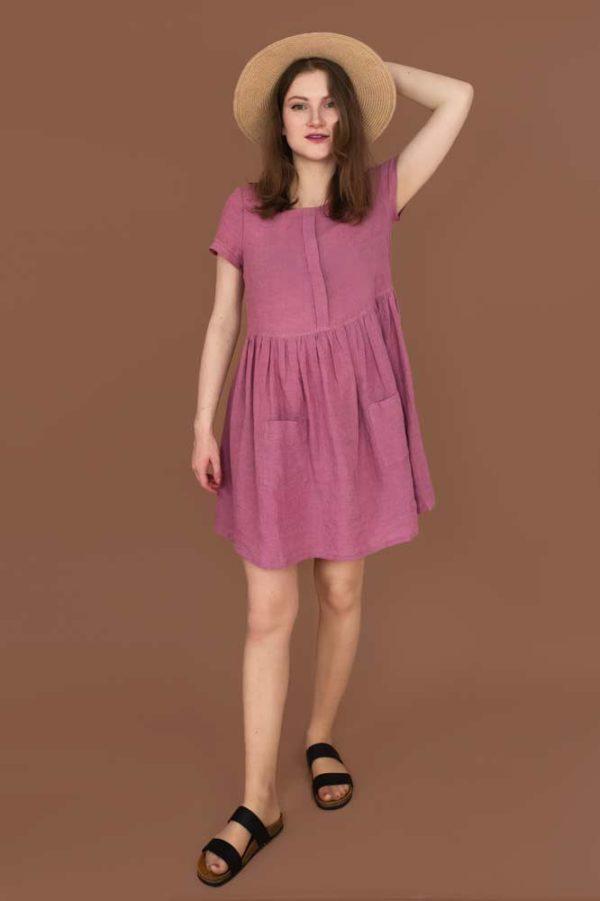 Sukienka Swobodna - wykrój na sukienkę