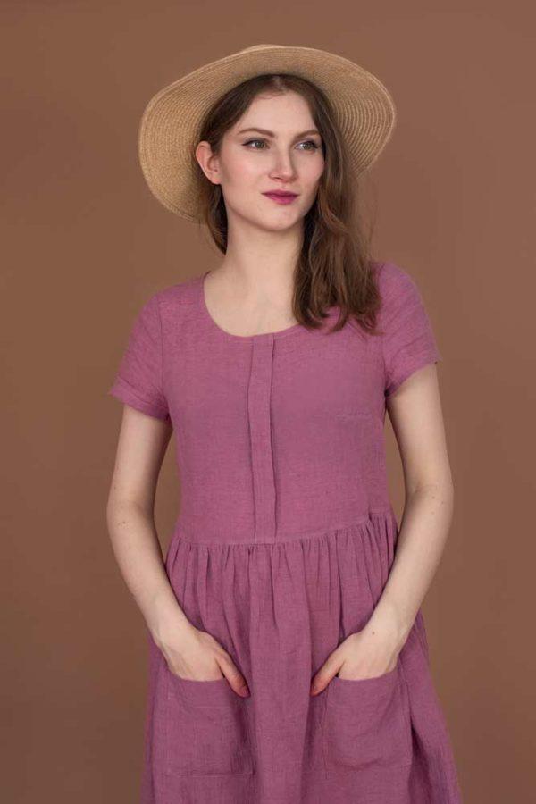 wykroje krawieckie - Sukienka Swobodna to wykrój na sukienkę