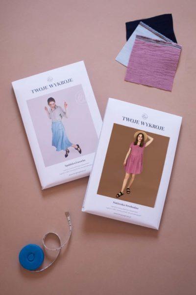 Zestaw na lato Sukienka Swobodna + Spódnica Luzacka (przedsprzedaż wersji papierowej)